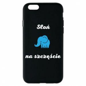 Etui na iPhone 6/6S Słoń na szczęście