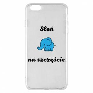 Etui na iPhone 6 Plus/6S Plus Słoń na szczęście