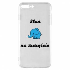 Etui do iPhone 7 Plus Słoń na szczęście