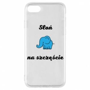Phone case for iPhone 8 Elephant for luck