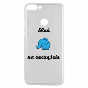 Phone case for Huawei P Smart Elephant for luck - PrintSalon