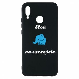 Phone case for Huawei P20 Lite Elephant for luck