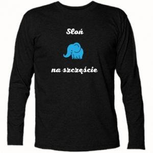 Long Sleeve T-shirt Elephant for luck - PrintSalon