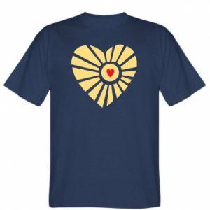 Koszulka Słońce z sercem