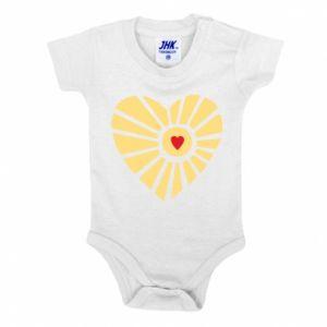 Body dla dzieci Słońce z sercem