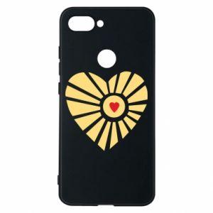 Etui na Xiaomi Mi8 Lite Słońce z sercem