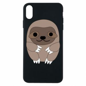Etui na iPhone Xs Max Sloth baby