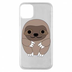 Etui na iPhone 11 Pro Sloth baby