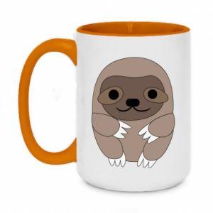Kubek dwukolorowy 450ml Sloth baby