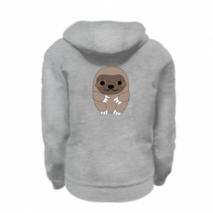 Bluza na zamek dziecięca Sloth baby