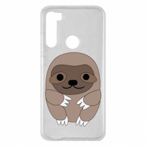 Etui na Xiaomi Redmi Note 8 Sloth baby