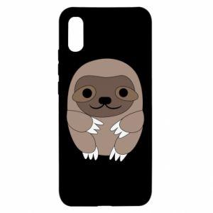 Etui na Xiaomi Redmi 9a Sloth baby