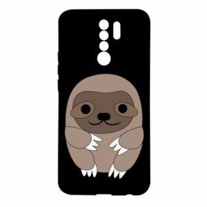 Etui na Xiaomi Redmi 9 Sloth baby