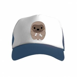 Kid's Trucker Hat Sloth baby