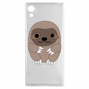 Etui na Sony Xperia XA1 Sloth baby