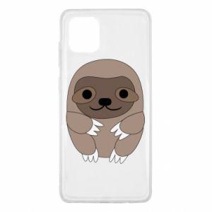 Etui na Samsung Note 10 Lite Sloth baby