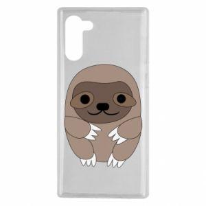 Etui na Samsung Note 10 Sloth baby