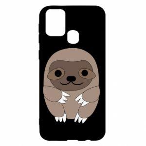 Etui na Samsung M31 Sloth baby