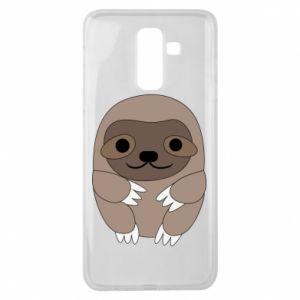 Etui na Samsung J8 2018 Sloth baby