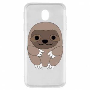 Etui na Samsung J7 2017 Sloth baby