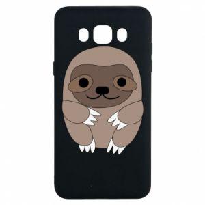 Etui na Samsung J7 2016 Sloth baby