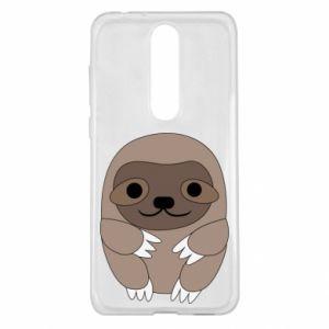 Etui na Nokia 5.1 Plus Sloth baby