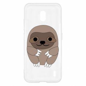 Etui na Nokia 2.2 Sloth baby
