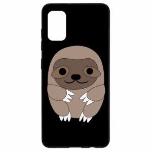 Etui na Samsung A41 Sloth baby