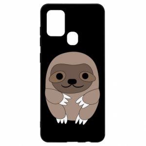 Etui na Samsung A21s Sloth baby