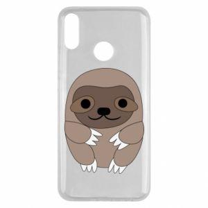Etui na Huawei Y9 2019 Sloth baby