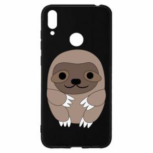 Etui na Huawei Y7 2019 Sloth baby