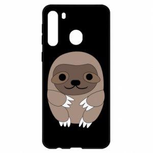 Etui na Samsung A21 Sloth baby