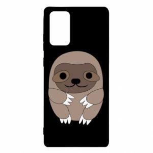 Etui na Samsung Note 20 Sloth baby