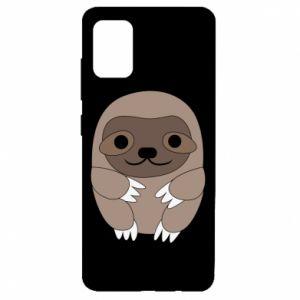 Etui na Samsung A51 Sloth baby