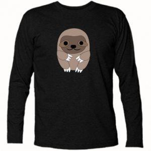 Koszulka z długim rękawem Sloth baby - PrintSalon