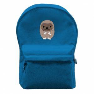 Plecak z przednią kieszenią Sloth baby - PrintSalon