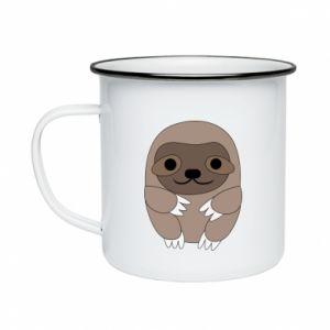 Kubek emaliowane Sloth baby - PrintSalon