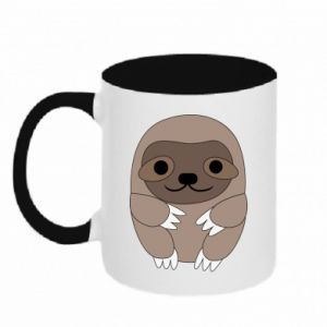 Two-toned mug Sloth baby