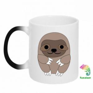 Kubek-kameleon Sloth baby - PrintSalon