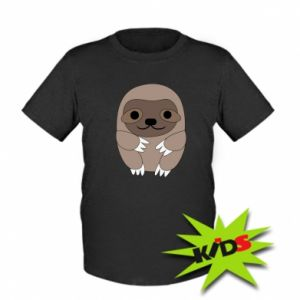 Dziecięcy T-shirt Sloth baby
