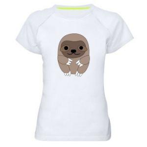 Damska koszulka sportowa Sloth baby