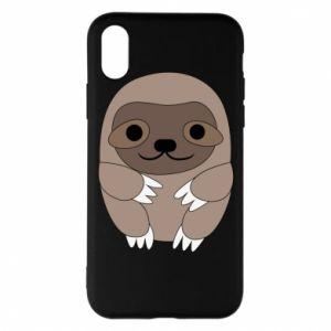 Etui na iPhone X/Xs Sloth baby