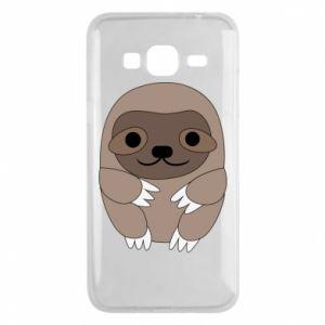 Etui na Samsung J3 2016 Sloth baby