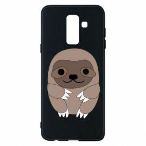 Etui na Samsung A6+ 2018 Sloth baby