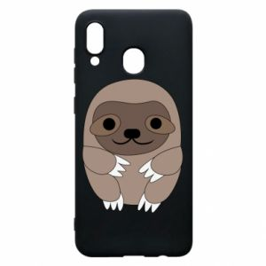 Phone case for Samsung A20 Sloth baby