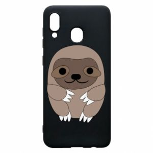Phone case for Samsung A30 Sloth baby