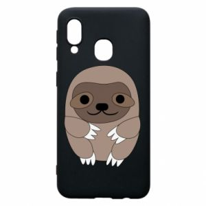Etui na Samsung A40 Sloth baby
