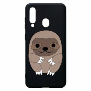 Etui na Samsung A60 Sloth baby