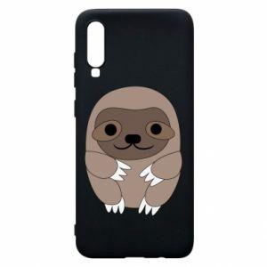 Etui na Samsung A70 Sloth baby