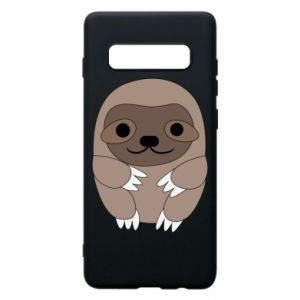 Etui na Samsung S10+ Sloth baby